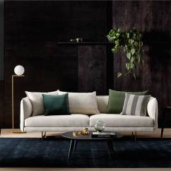 Moss Studio Sofa Reviews Sectional Curved Zaza The Latest Collaboration For Charles Wilson And King Living On