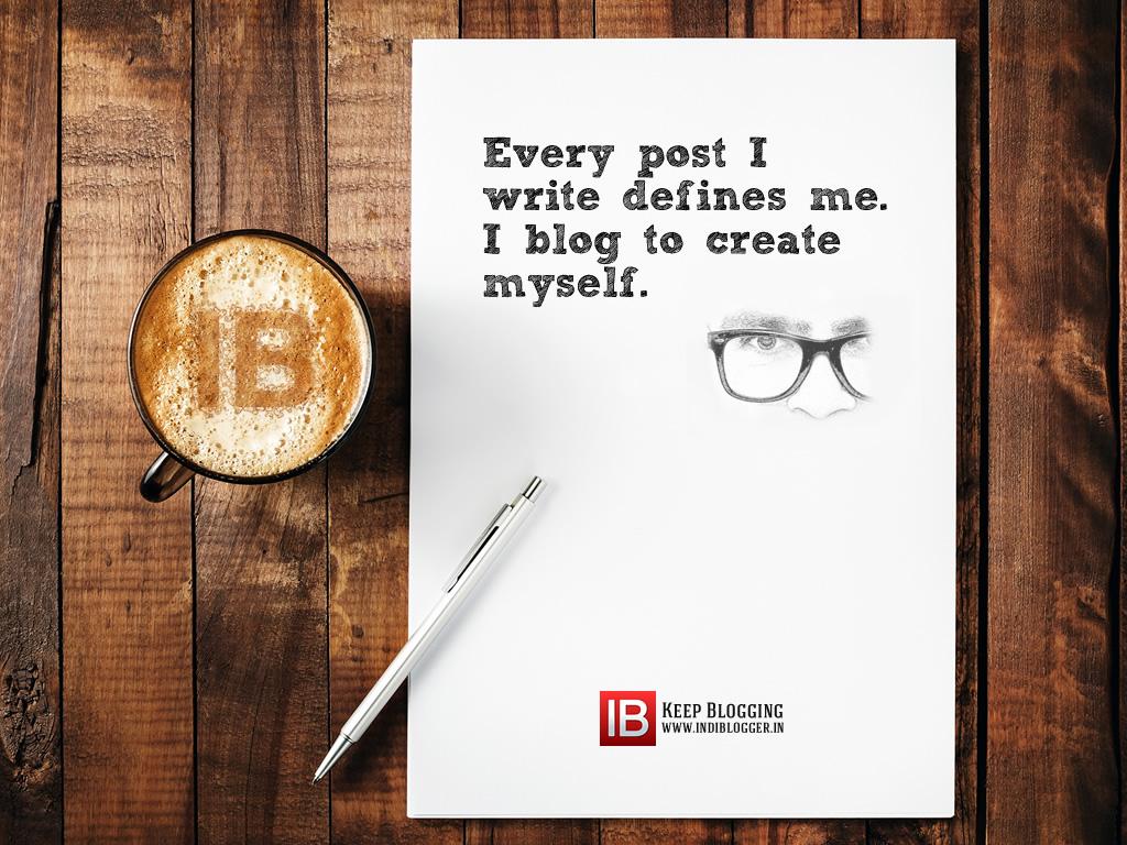 I blog to create myself wallpaper