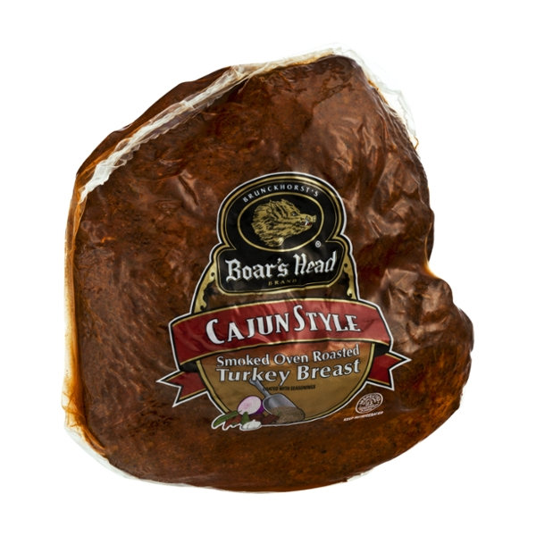 Boar39s Head Cajun Style Smoked Oven Roasted Turkey Breast