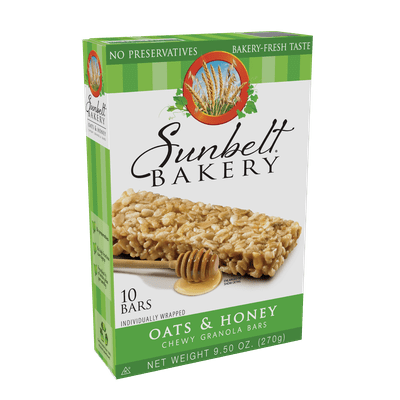 McKee Foods Sunbelt Bakery Oats amp Honey Big Chewy Granola