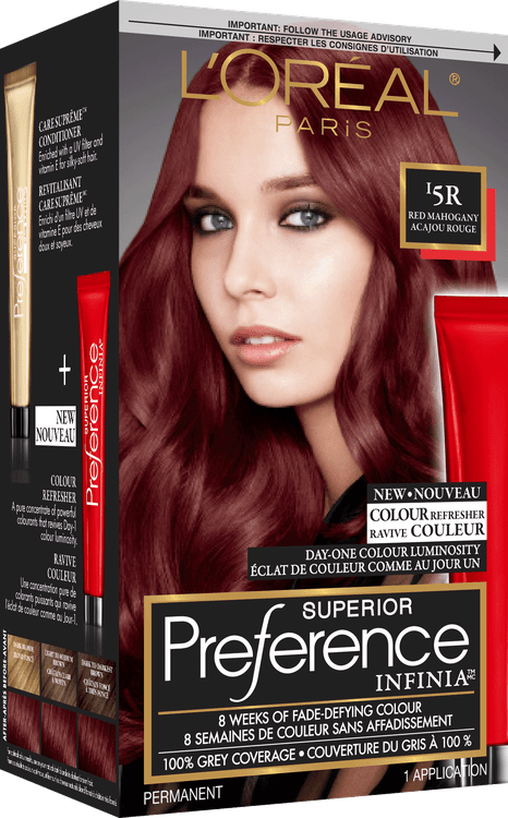 LOral Preference Infinia 5R Red Mahogany Reviews 2019