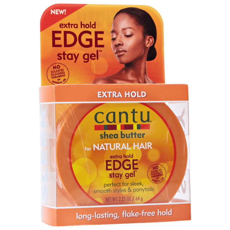 Cantu Shea Butter for Natural Hair Extra Hold Edge Stay ...