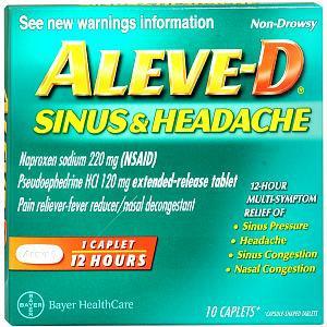 Aleve-D Sinus & Headache Reviews 2019