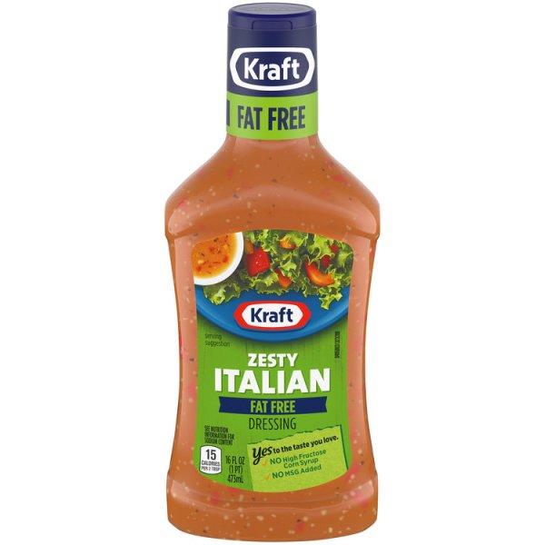 Kraft Zesty Italian FatFree Dressing Reviews 2019