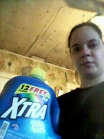 Xtra Crystal Clean Detergent plus the Power of OxiClean