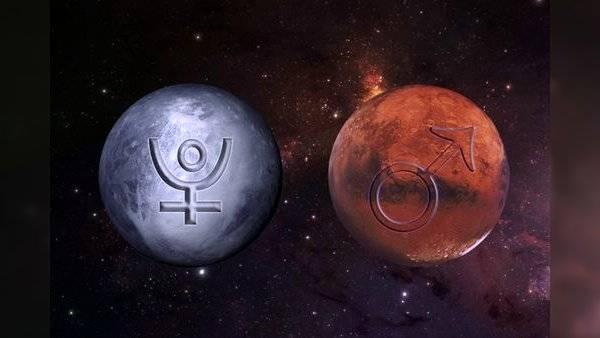 Marte y Plutón
