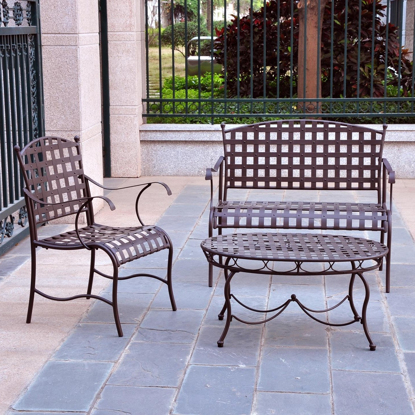 wrought iron sofa set in pune costco sectional store creativeworks home decor patio furniture sets