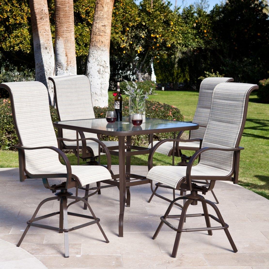 Outdoor Bar Height Patio Furniture