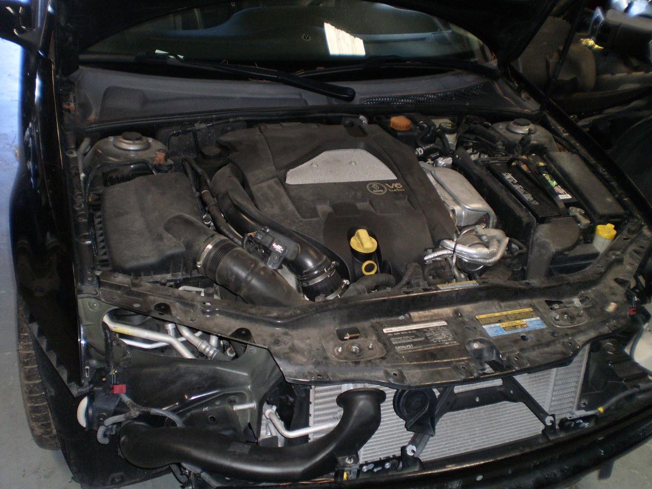 2006 Saab 9-3 Engine Diagram