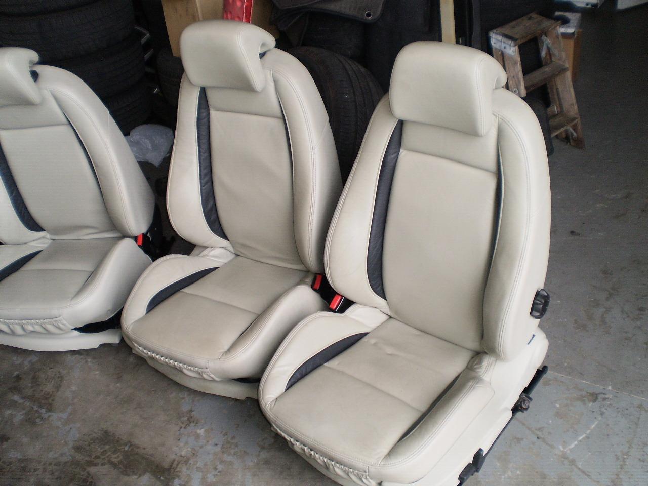 medium resolution of 2006 saab 9 3 aero seats tan complete