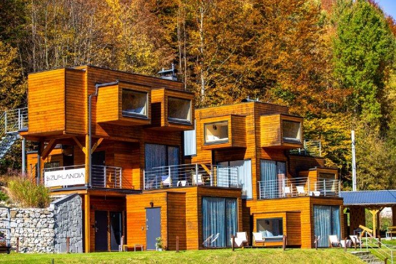 Шуфландія - це місце відпочинку для сімей з дітьми (4-місні апартаменти) та сімейних пар або одинаків (2-місні апартаменти).