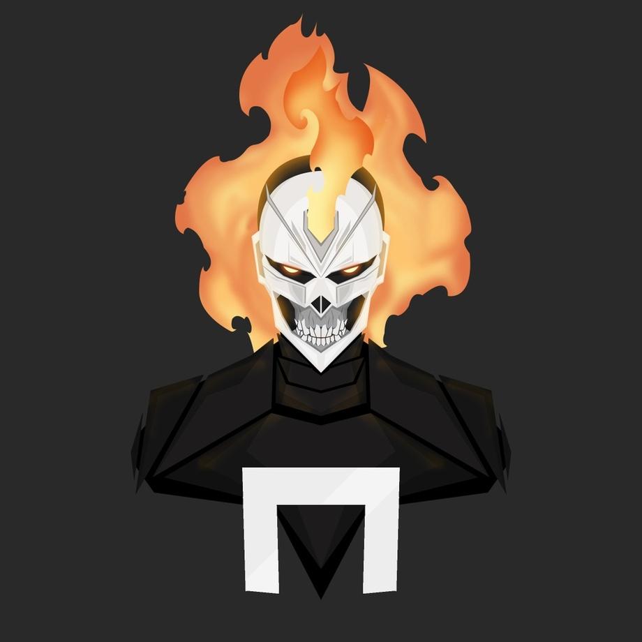 Ghost Rider Robbie Reyes Art Print Kazi Sakib