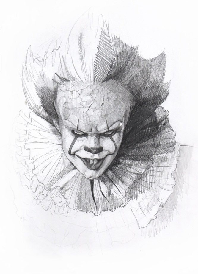 clown boy by gibby