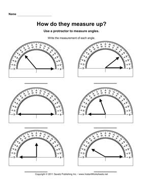 Protractor Angles