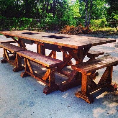 Kentucky Stick Table Plans