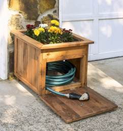 hose holder planter box [ 1400 x 1675 Pixel ]