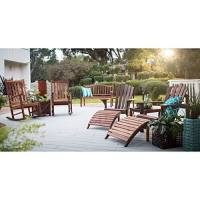 Belham Living Richmond Curved-Back 4 ft. Outdoor Wood ...