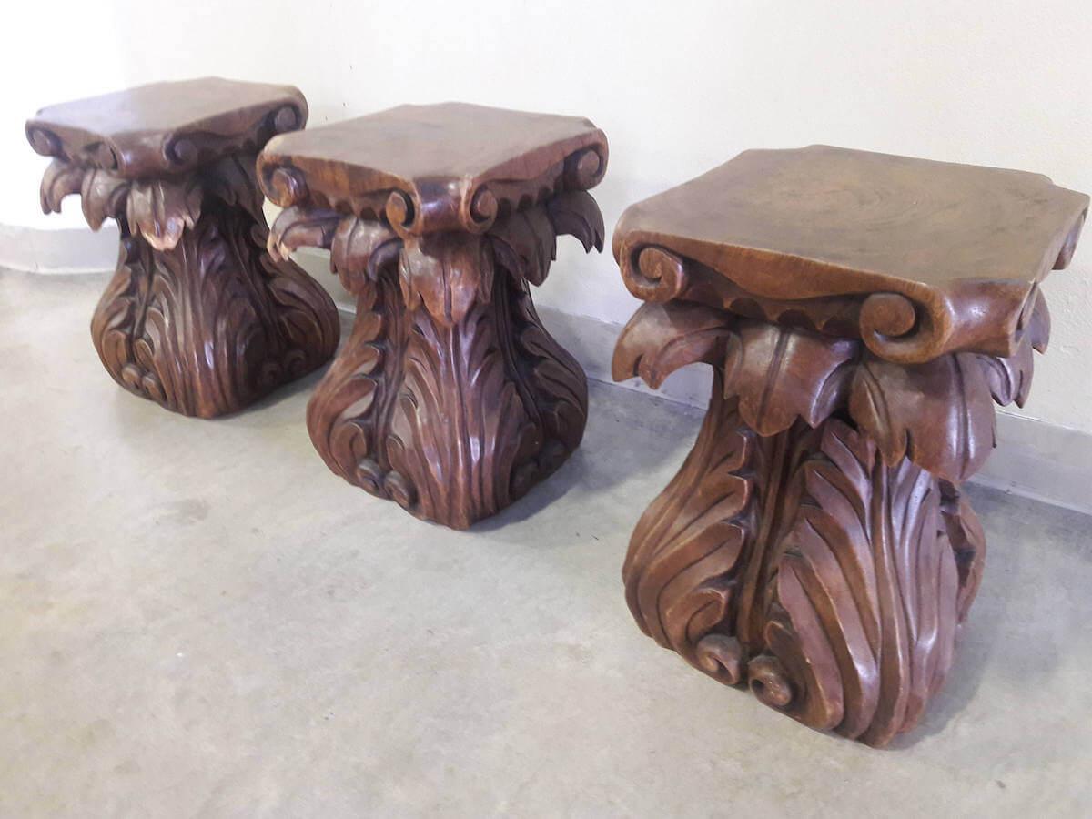 25 Gorgeous Tree Stump Tables