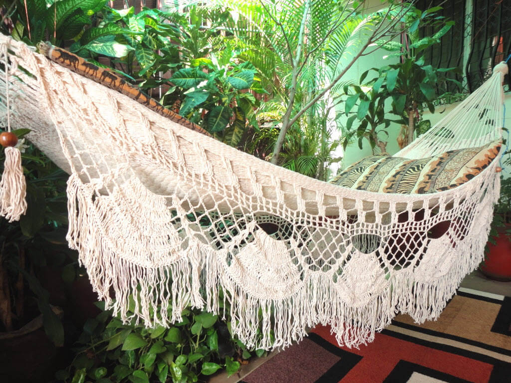 white bohemian hanging chair mickey mouse table and set hammock chairs  insteading