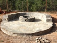Stone Veneer Fire Pit Patio: 11 Steps (with Pictures)