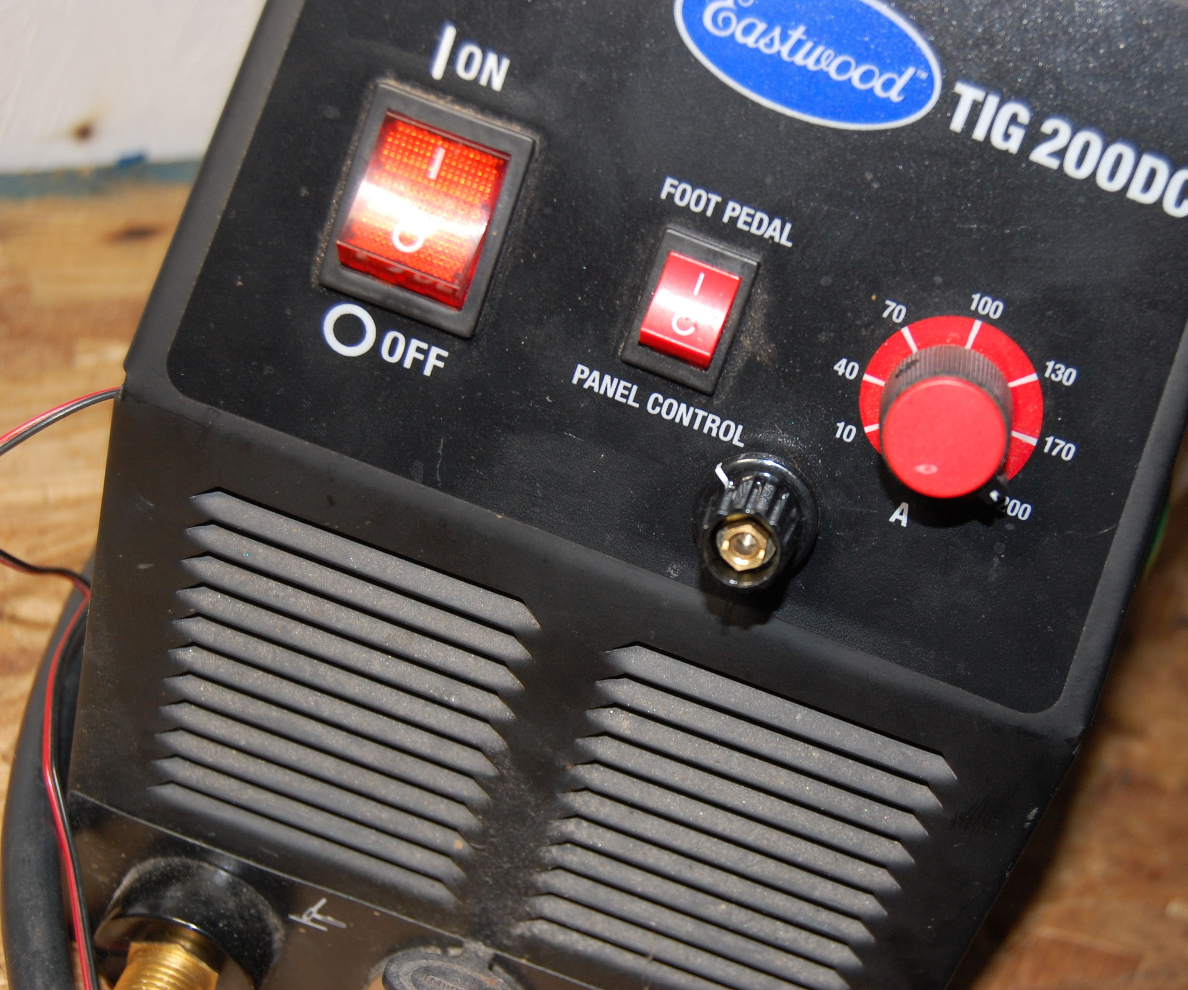 adjustable post gas on cheap tig welder [ 2100 x 1750 Pixel ]