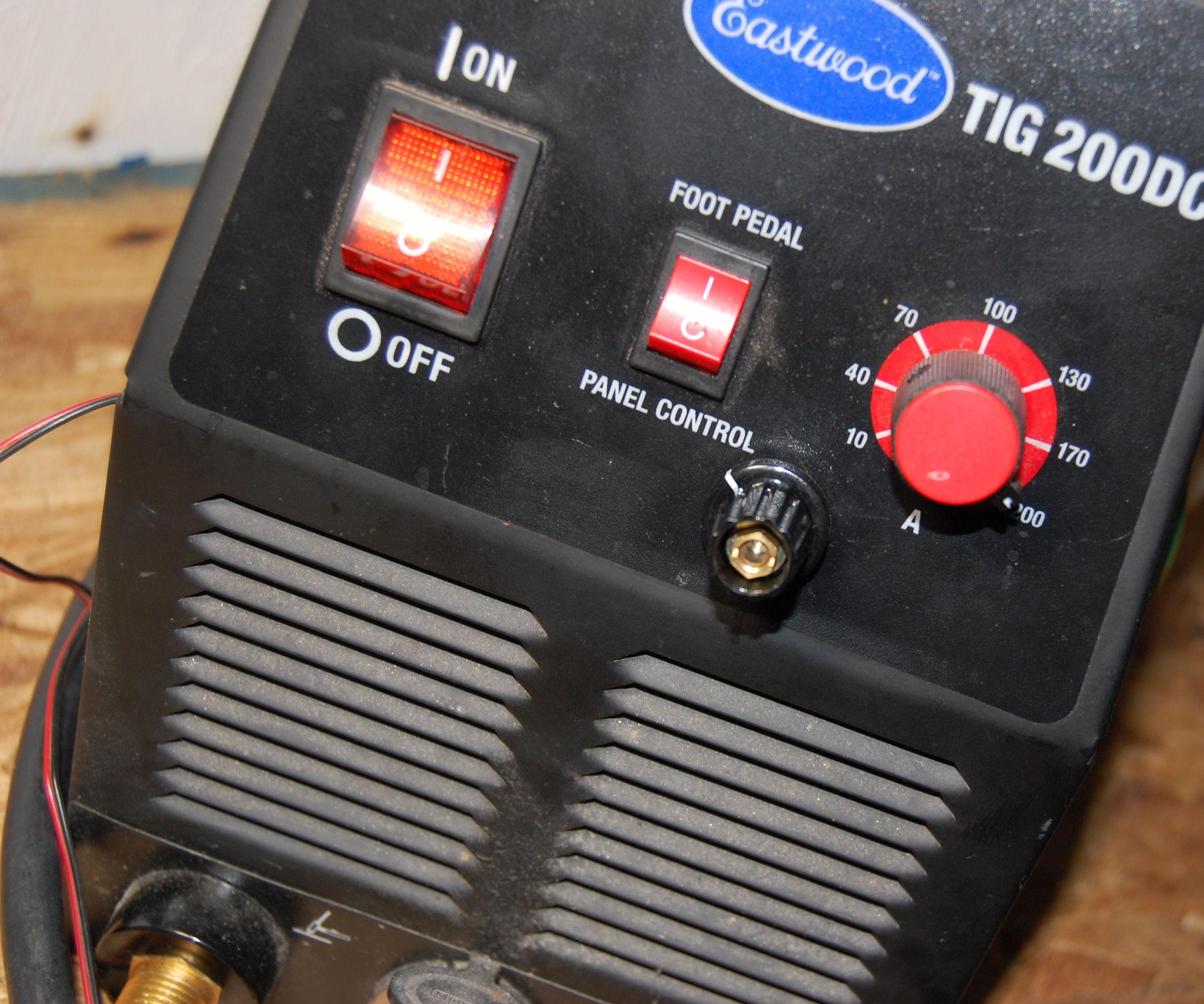 medium resolution of adjustable post gas on cheap tig welder