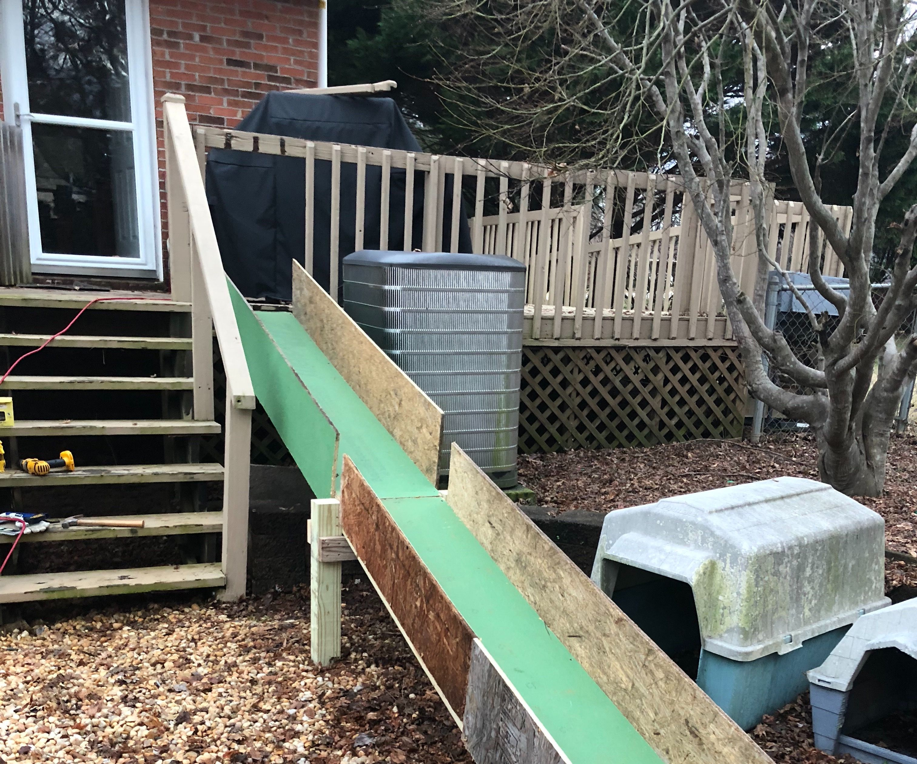 Dog Ramp For High Deck 6 Steps