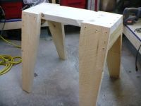DIY Sawhorses
