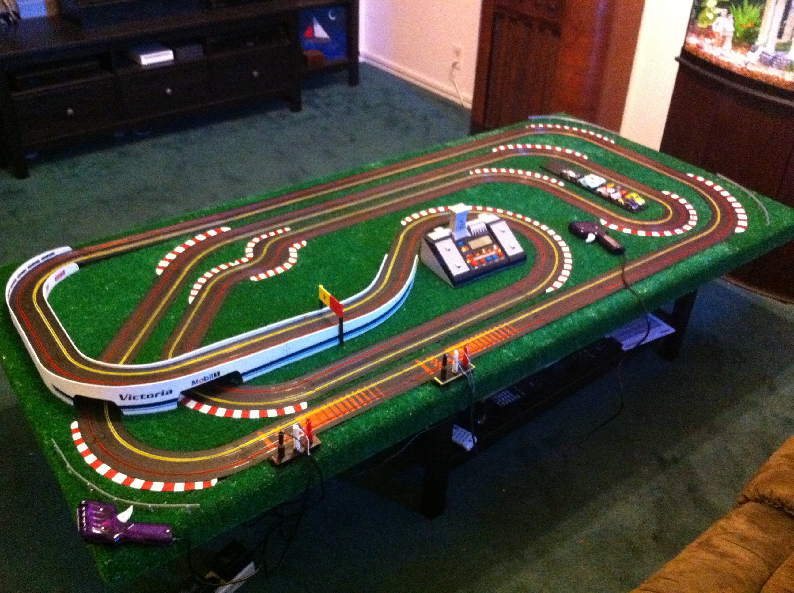 hight resolution of taking your ho scale slot car track to the next level cheaply 11 stepswiring ho track