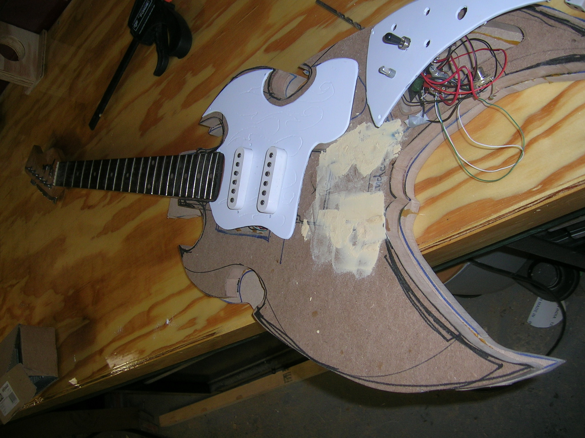 medium resolution of new look at an old wiring schemeand another cheap guitar makeover build a custom electric guitar