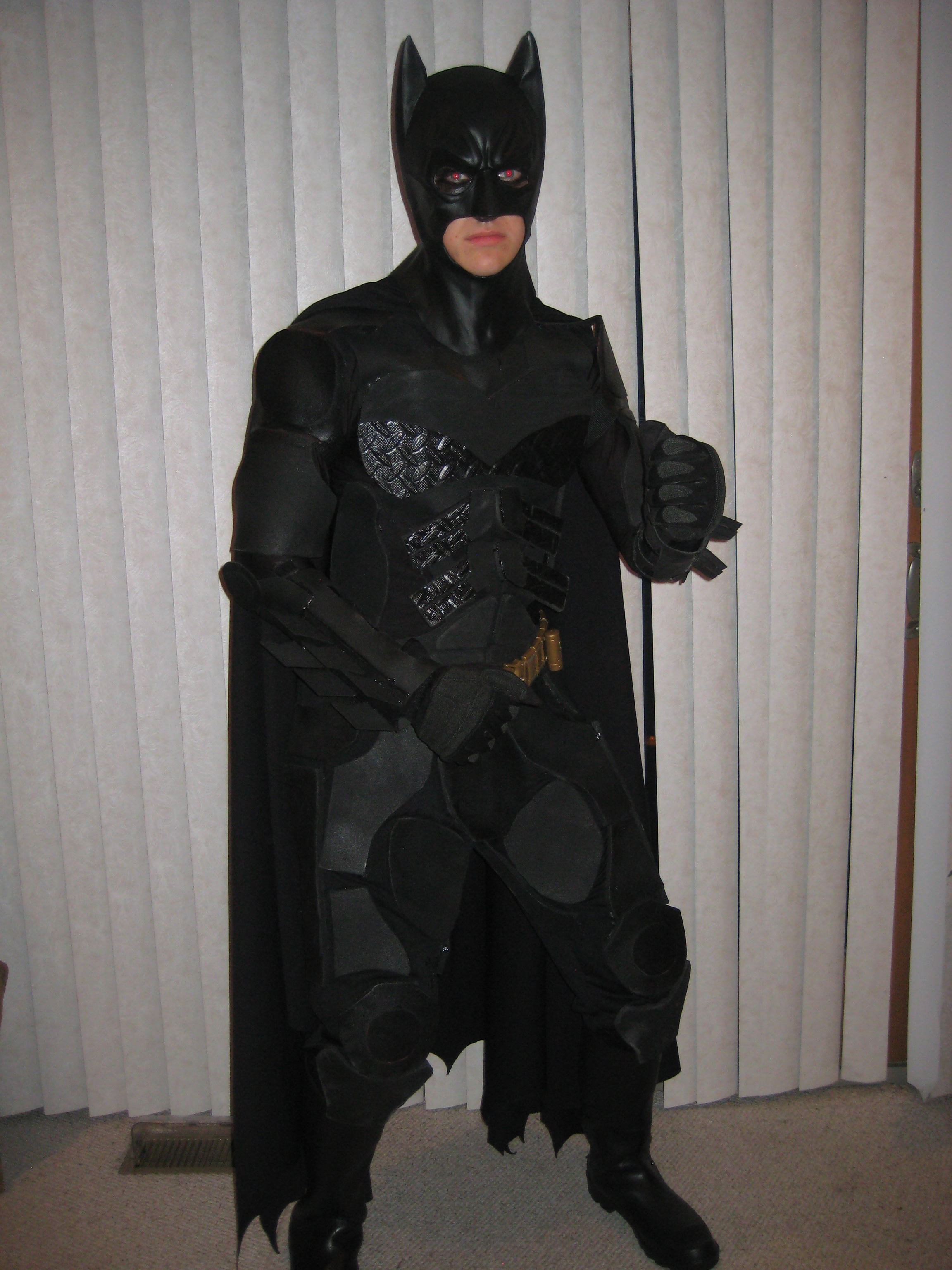 Batman Costume The Dark Knight Rises 9 Steps With Pictures Instructables