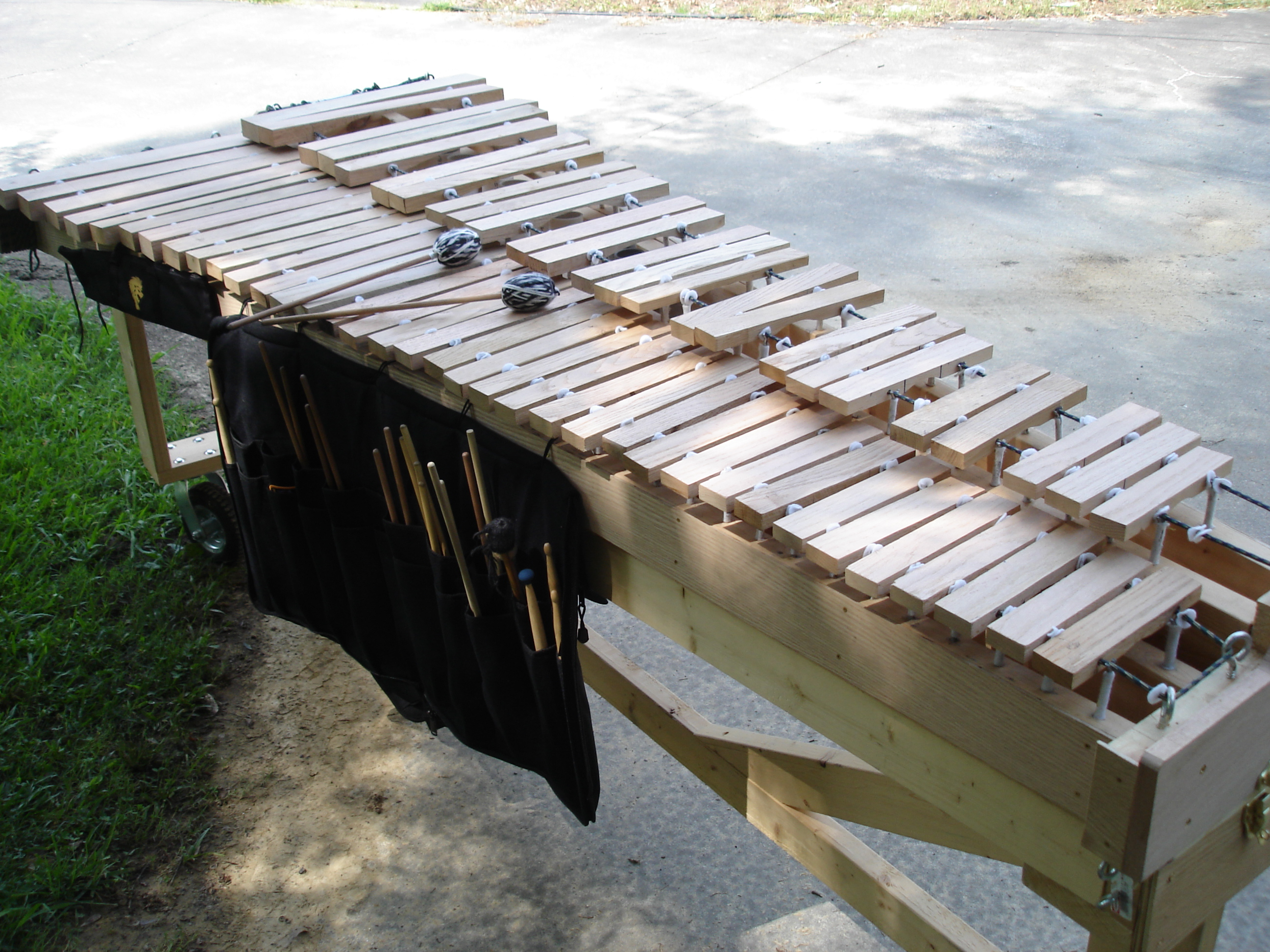 small resolution of build your own marimba and wrap your own mallets 15 steps with pictures