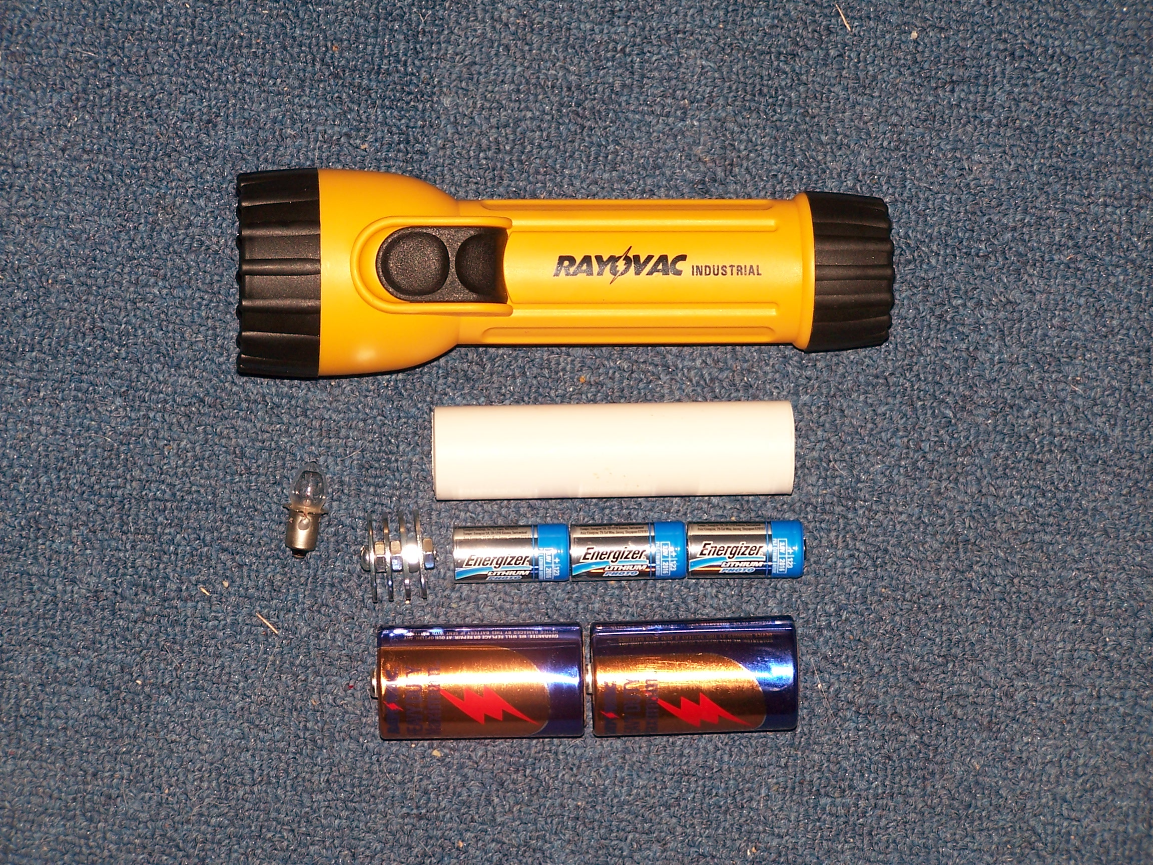 make a 200 tactical flashlight for about 15 [ 2100 x 1575 Pixel ]