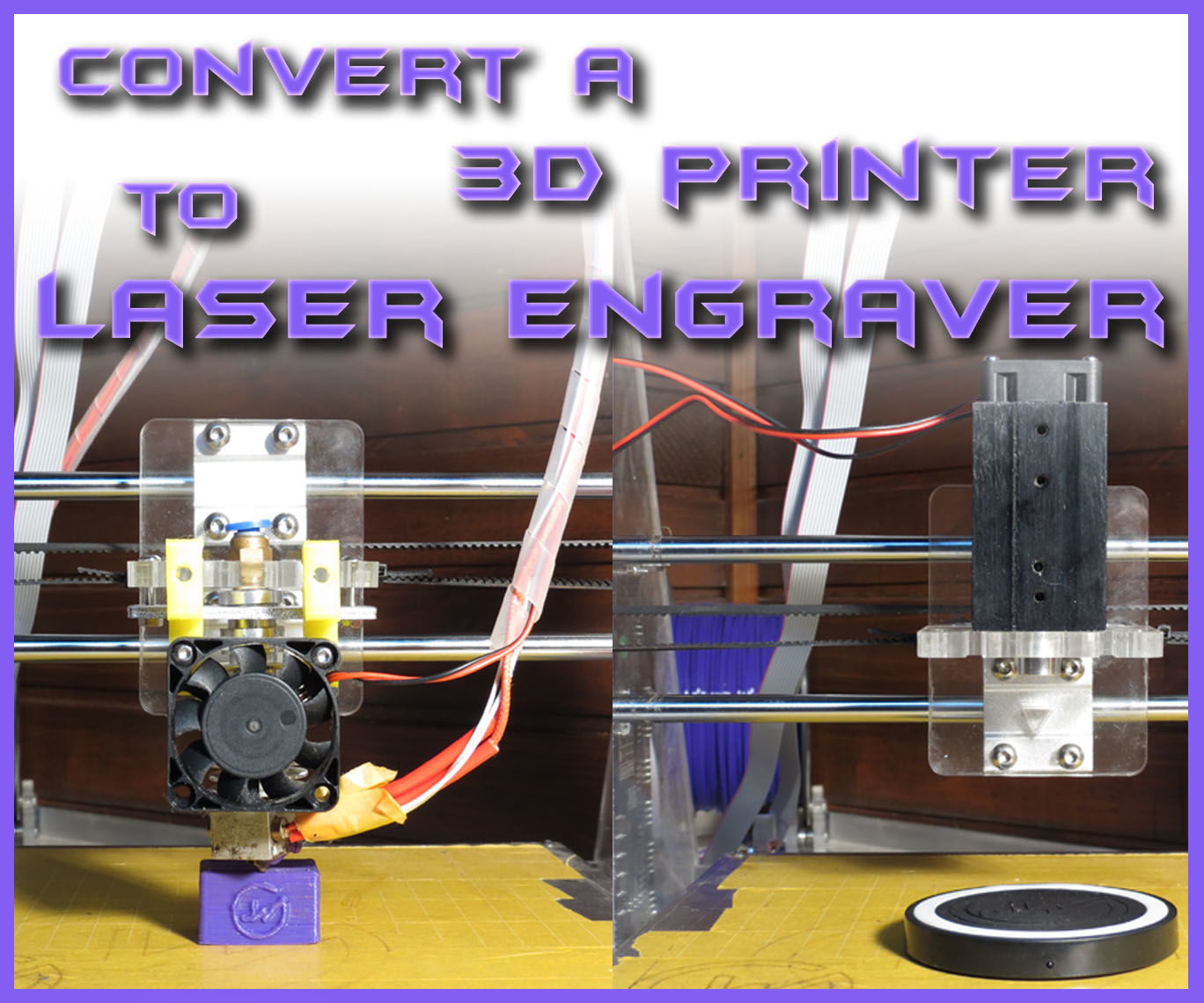 convert a 3d printer to laser engraver under 40 5 steps with pictures  [ 1368 x 1140 Pixel ]