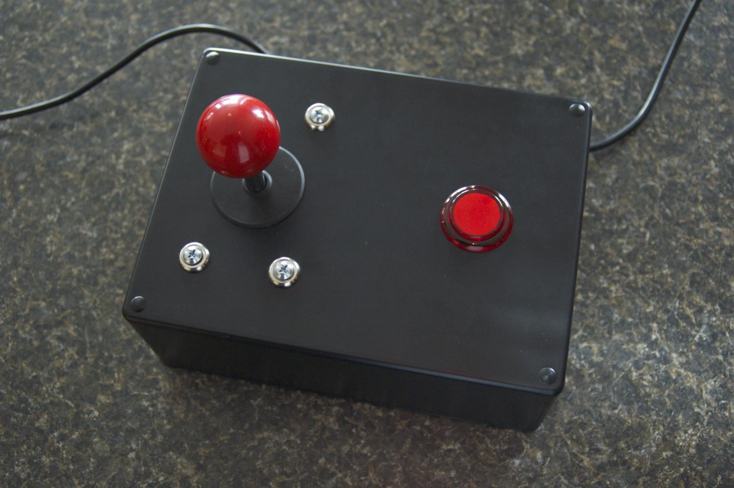 make your own atari joystick [ 1504 x 1000 Pixel ]