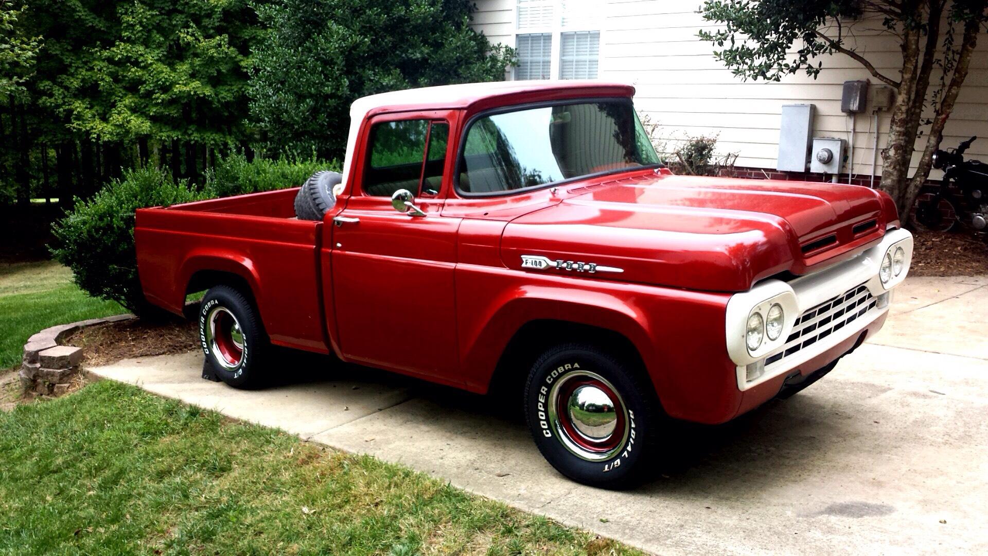 hight resolution of 1960 ford f 100 truck restoration