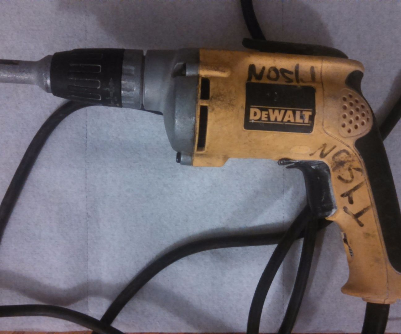 hight resolution of dewalt drywall scrugun repair 6 steps with pictures de walt power tool wiring diagrams