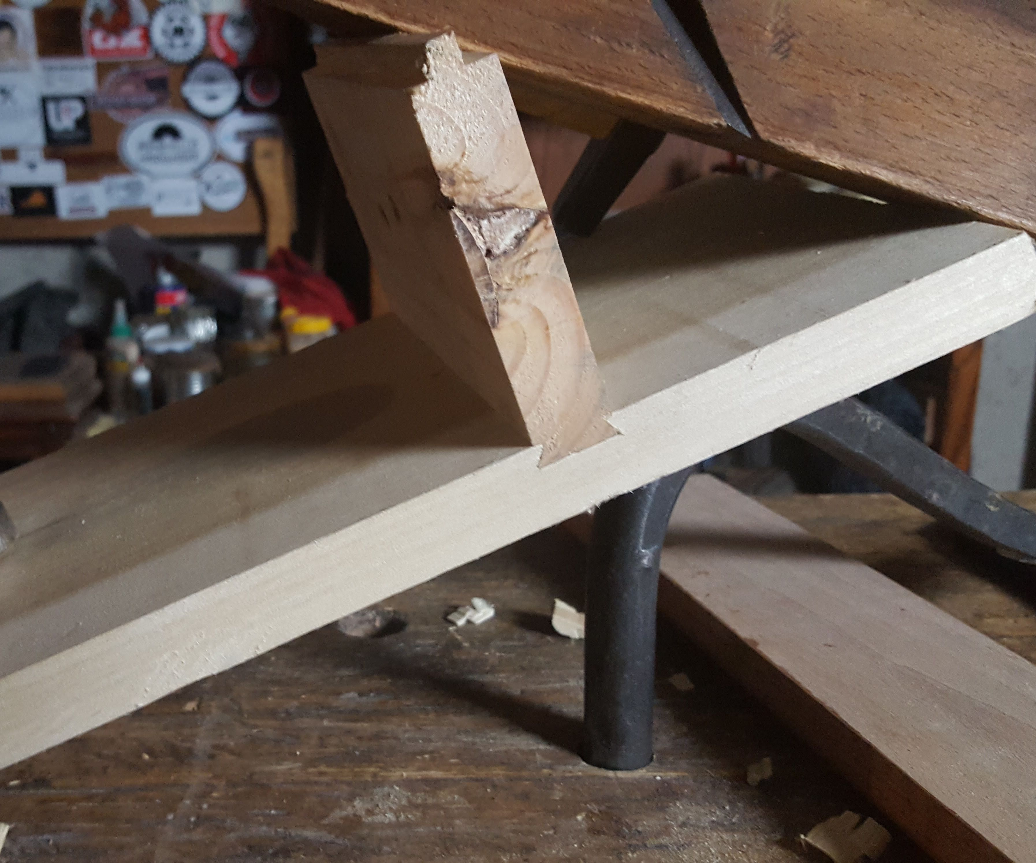 Sliding Dovetail By Hand
