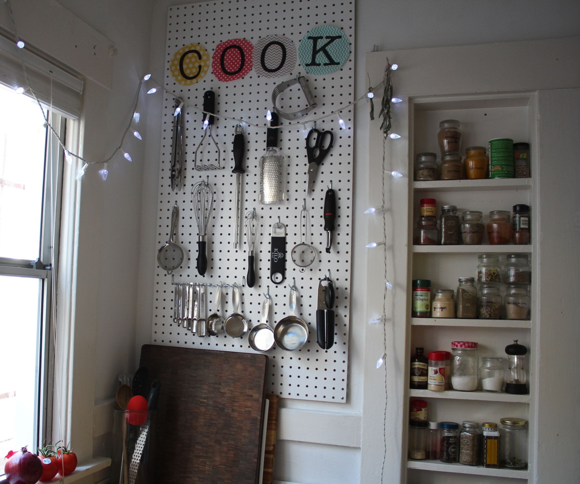 kitchen pegboard free standing sink unit organizer with pictures