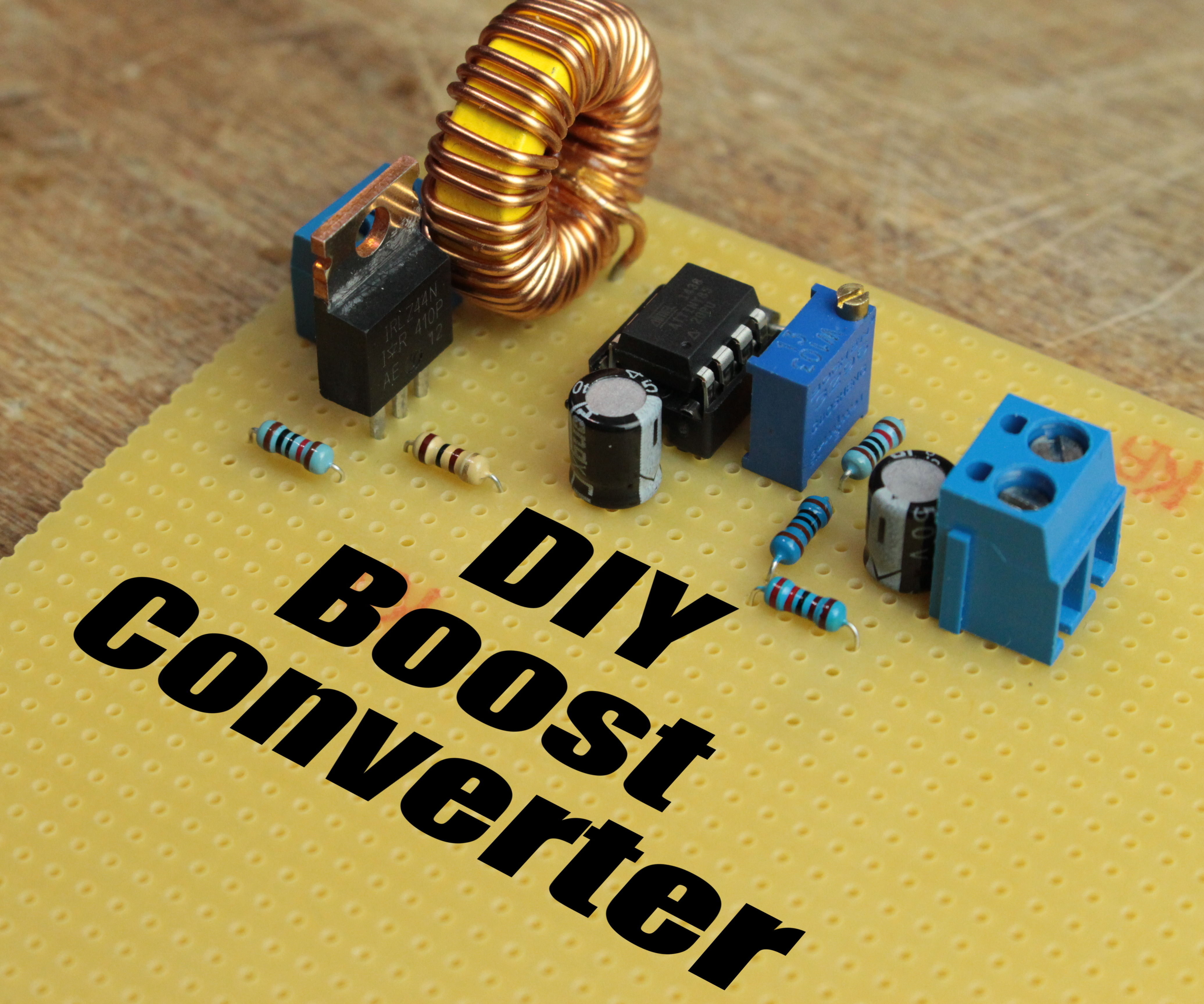 small resolution of diy boost converter how to step up dc voltage efficiently 5 steps with pictures