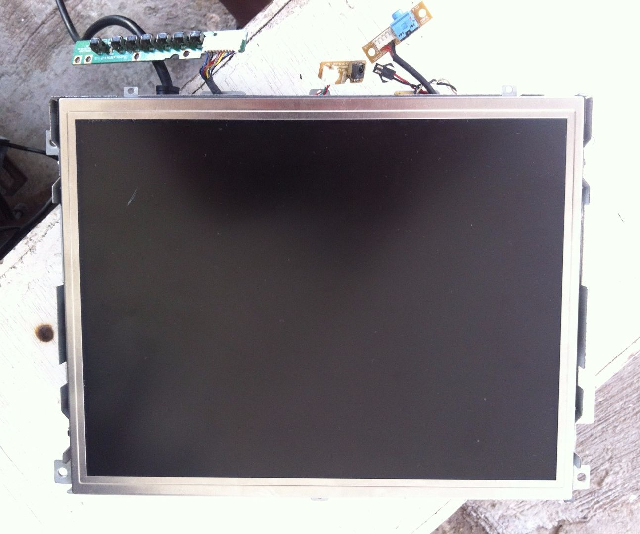 lcd tv backlight repair from ccfl to led [ 1294 x 1080 Pixel ]