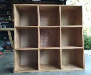 Bookcase Storage Cubby Unit 10 Steps With Pictures