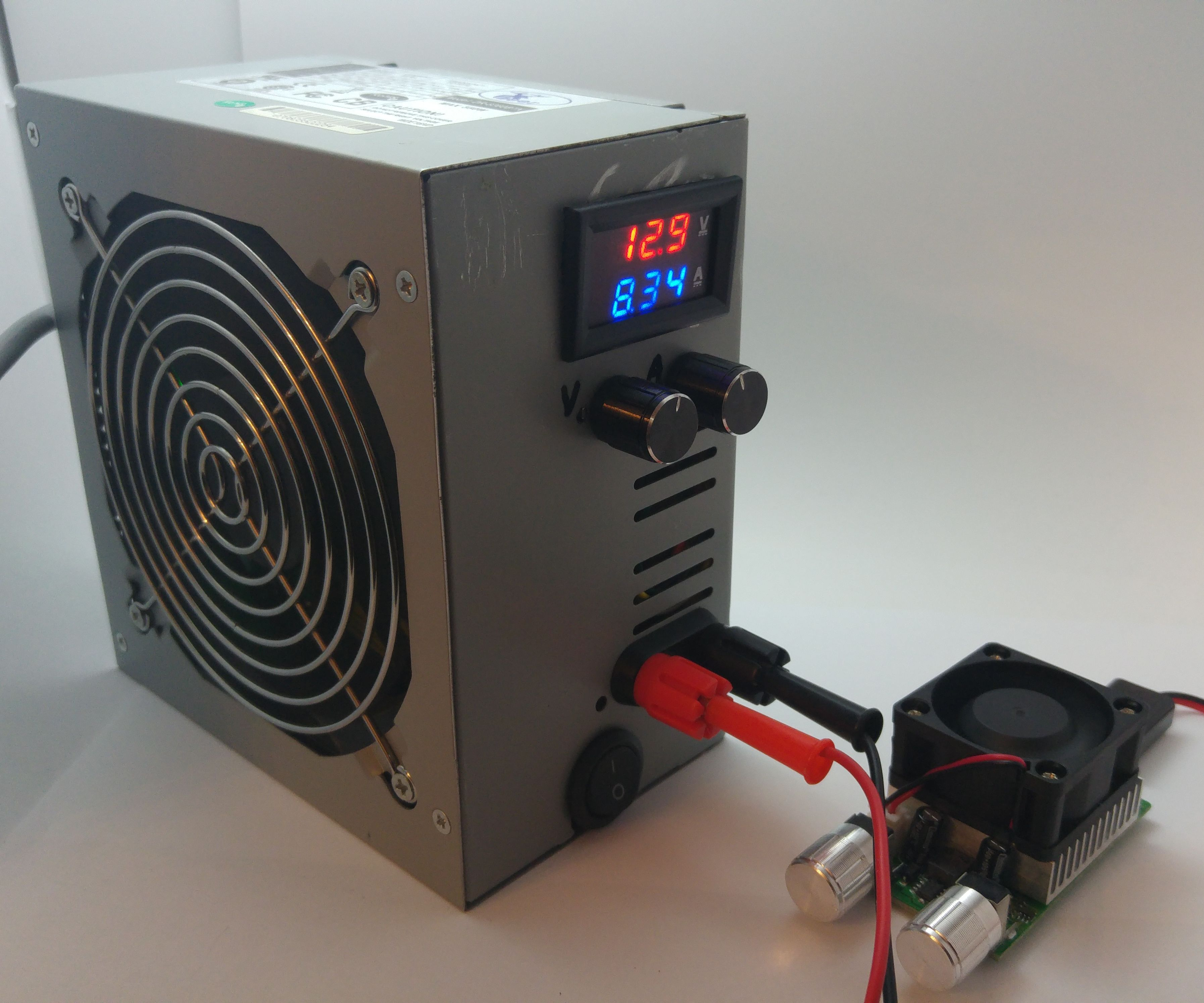 hight resolution of 1 30v benchtop power supply in atx psu house