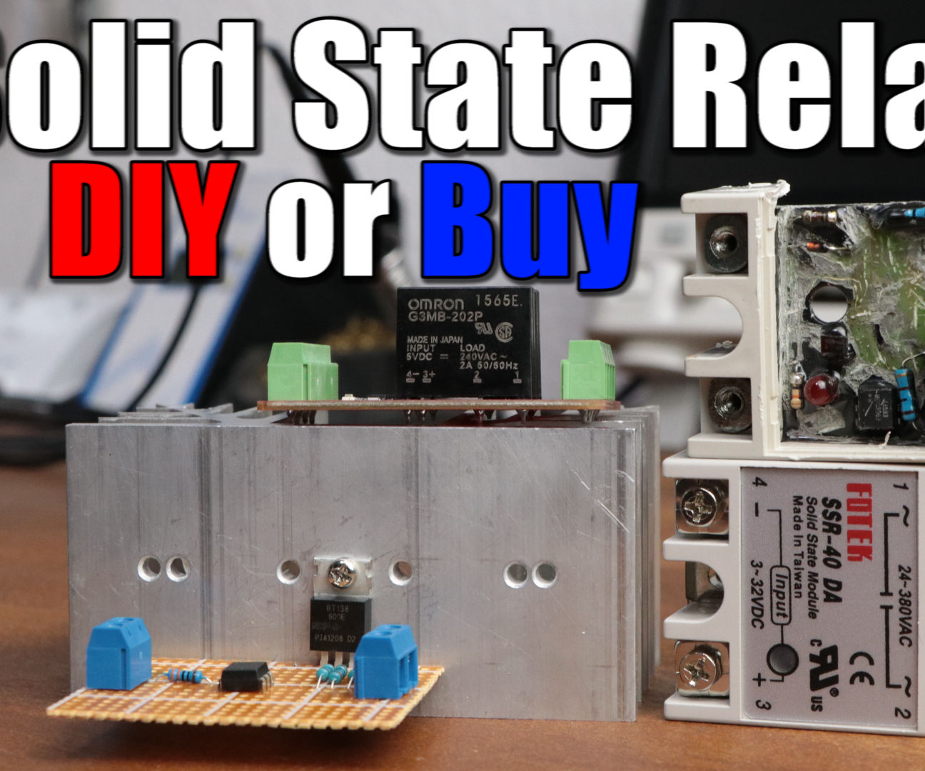 make your own solid state relay [ 1296 x 1080 Pixel ]