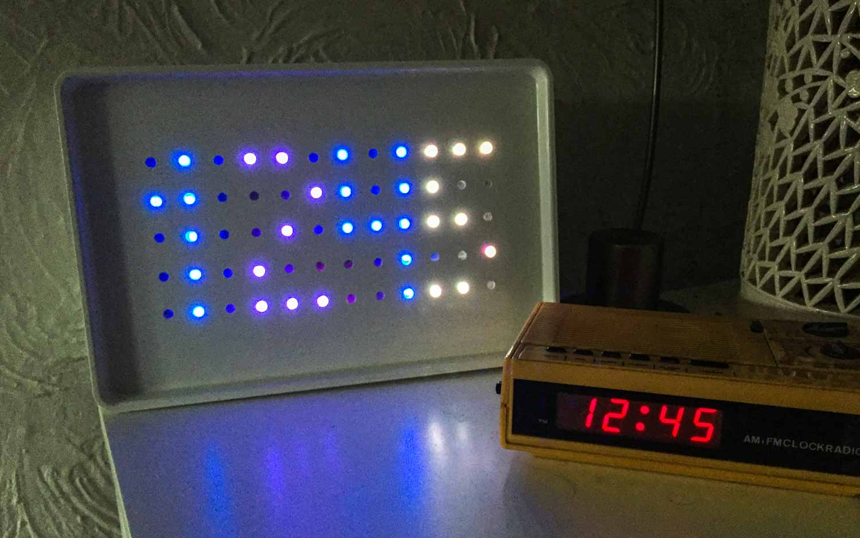 arduino powered sunrise alarm
