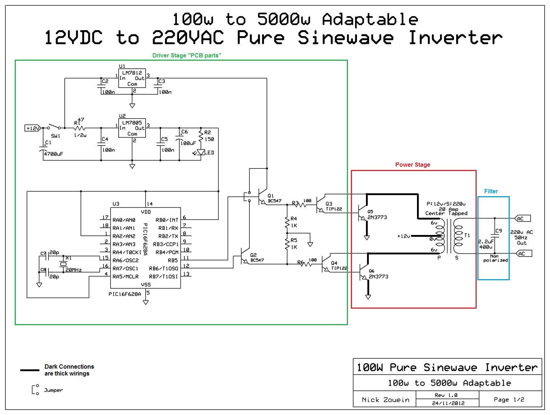 adaptable 12vdc 220vac pure sinewave inverter [ 1530 x 1155 Pixel ]
