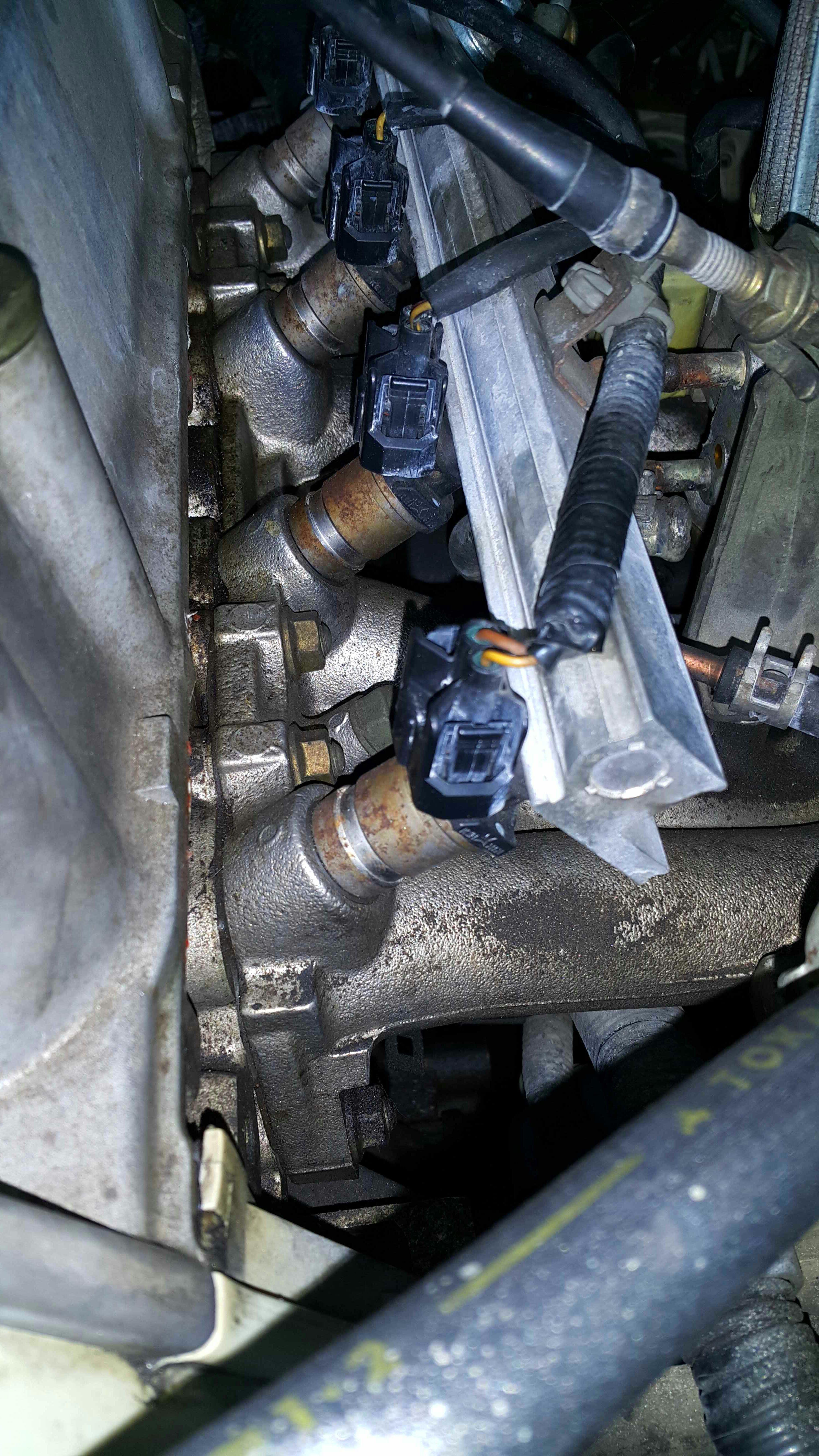 medium resolution of replacing fuel injectors honda civic 1999 d15b