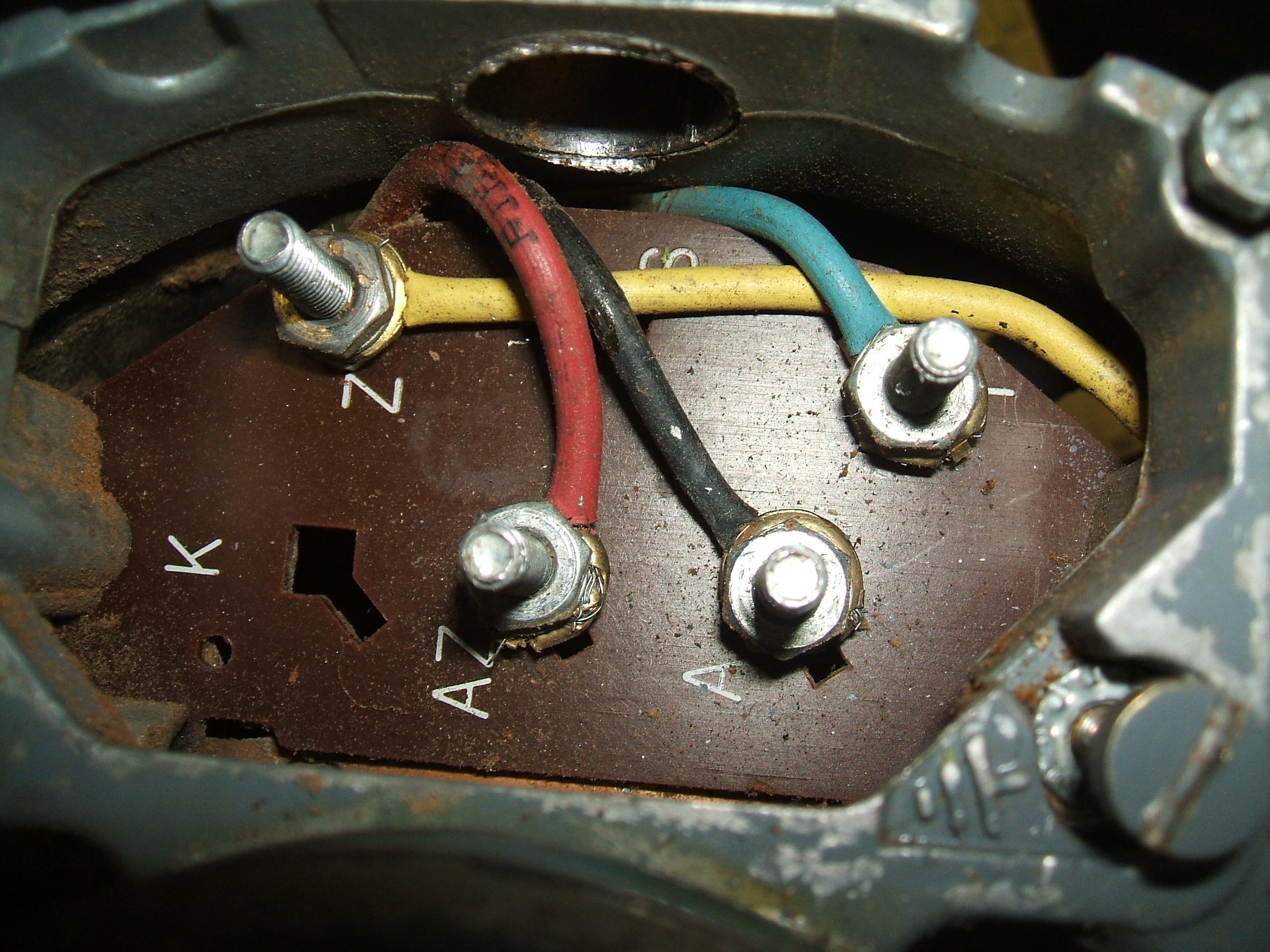 wiring up a brooke crompton single phase lathe motor myford lathe  [ 2100 x 1575 Pixel ]