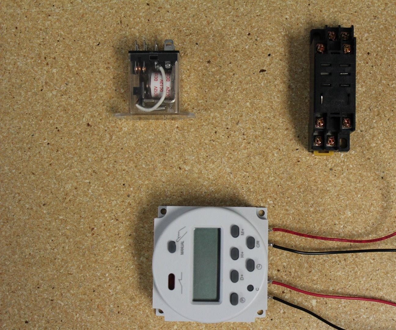 12v relay with timer switch by progressive automations in circuitsrobots [ 1296 x 1080 Pixel ]