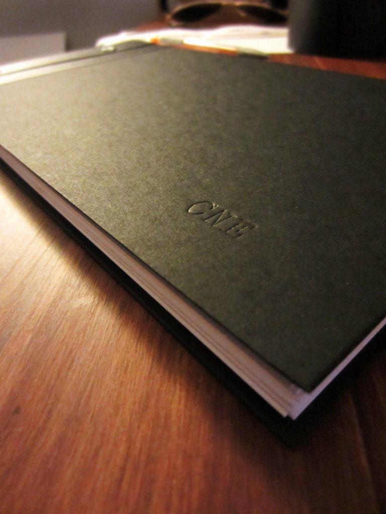 hardcover portfolio book 12